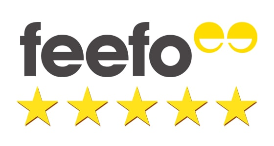 Read our Reviews on Feefo