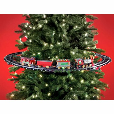 Christmas Tree Train.Christmas Tree Train