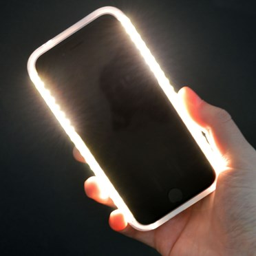 competitive price 171e1 99701 iPhone Selfie Light & Power Bank Case