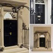 10 Downing Street Doorway Model - Single Bookend