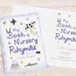 Personalised Nursery Rhymes Book - Hardback