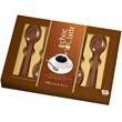 Set of 10 Belgian Milk Chocolate Spoons