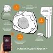 Secondary Bluetooth Garden Rock Speaker
