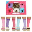 Six Donut Oddsocks in a Box