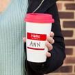 Personalised 'My Name Is' Travel Mug