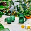 Saguaro Cactus Espresso Glasses