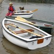 Personalised Classic Fibreglass Rowing Boat