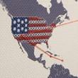 Cross Stitch World Map