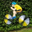 Cyclist Wind Spinner