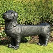 Dachshund Dog Garden Bench