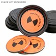 Exploding Clay Pigeon Targets