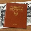 Personalised Football History Book