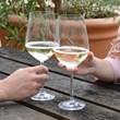Pair of Giant Wine Glasses