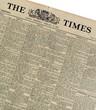 Personalised Original Newspaper in a Personalised Folder