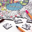 Personlised Colour Your Own Puzzle