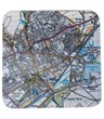 Sherborne Map Coasters