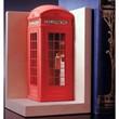 Single Bookend  Telephone Box