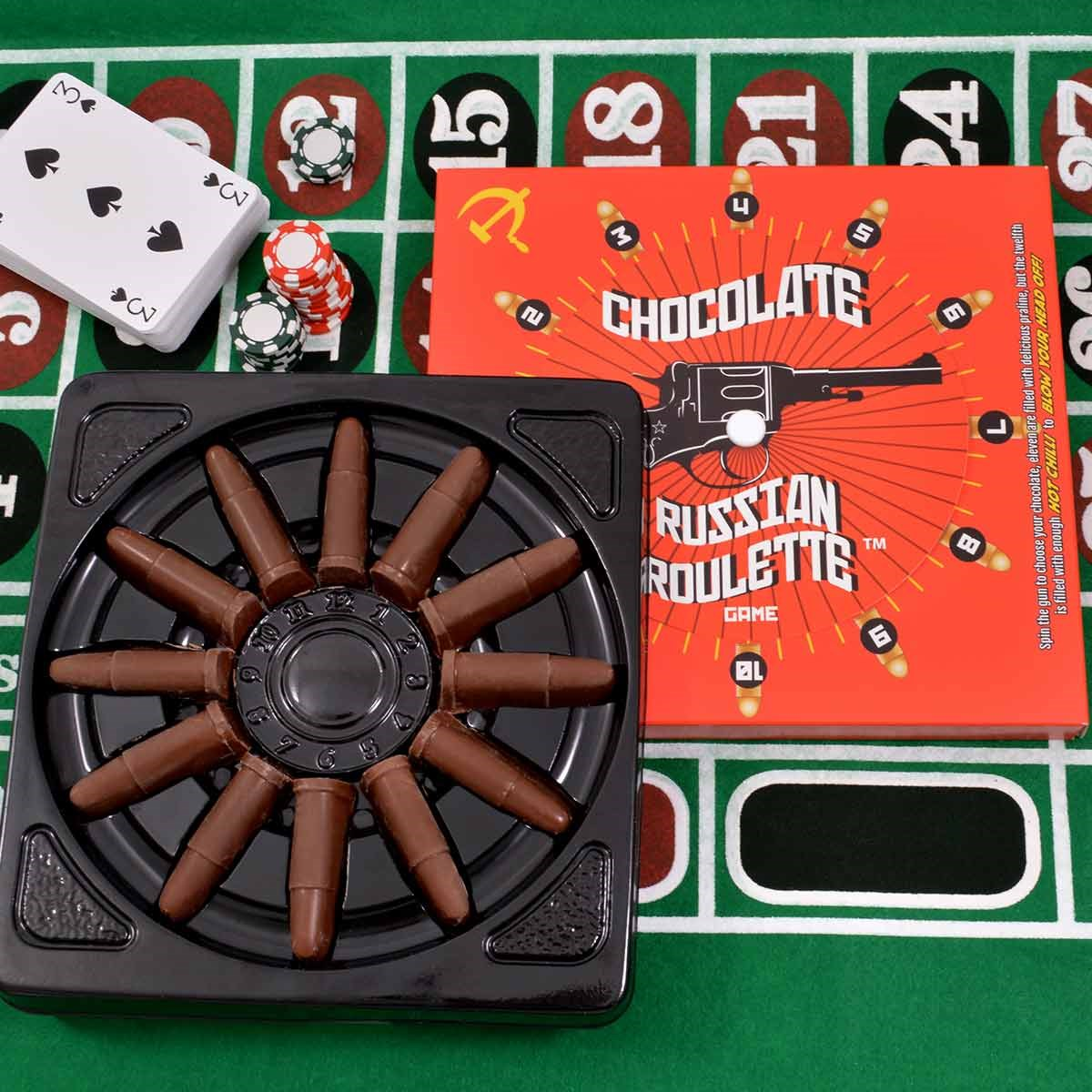 Chocolate Russian Roulette Game | Bite The Bullet Game | The ...