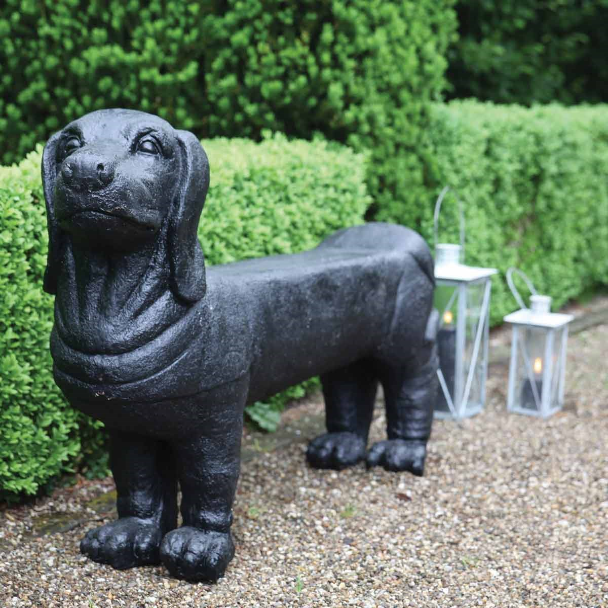 Dachshund dog garden bench the present finder Bench dog