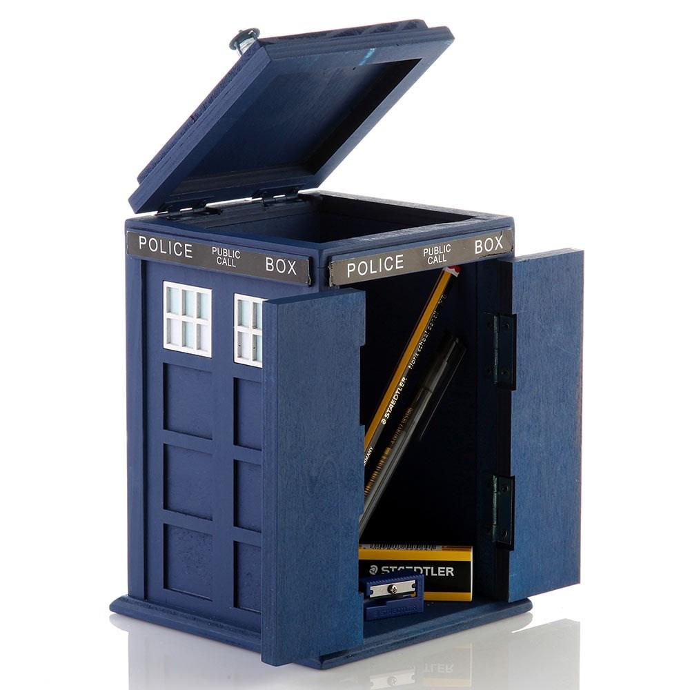 Desk Tidy doctor who tardis desk tidy | the present finder