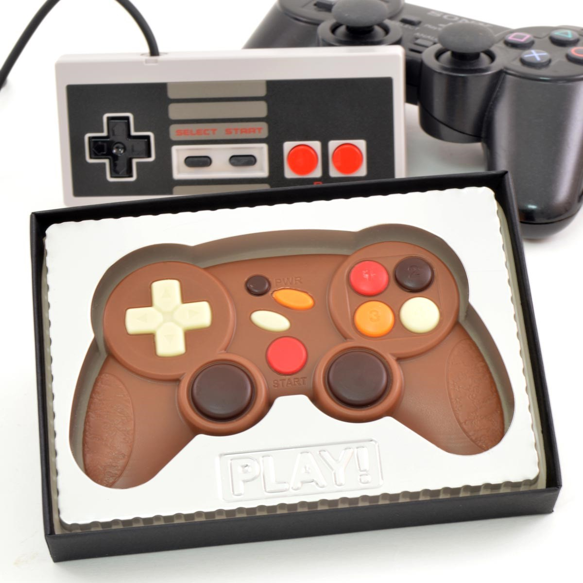 Milk Chocolate Games Controller | A High Scoring Treat | The ...
