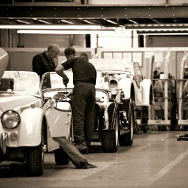 Morgan Factory Stock Photos Morgan Factory Stock Images: Morgan Motor Company Tour For Two