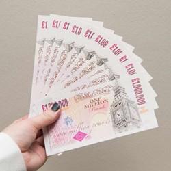 10 One Million Pound Notes | Instant Multi-Millionaire!