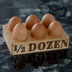 1/2 Dozen Egg Holder