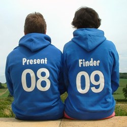 Personalised Teen/Adult Hoodie - Quirky Hoody for a Teen or Adult.