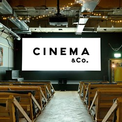 Unique Cinematic Experience with Popcorn, Pizza & Wine for 2