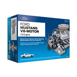 Ford Mustang V8 Model Engine Kit