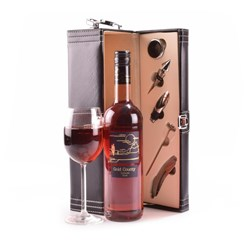 Rose Wine Gift Case