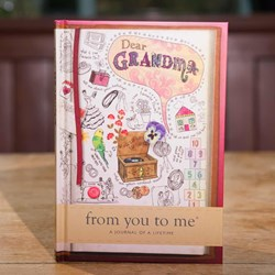 Life Journal for Grandmas | From You to Me Journal