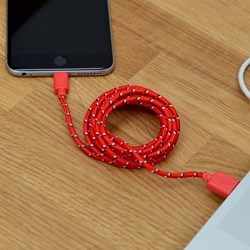 2m Long iPhone 5/6 Charging Cable | 6ft Long