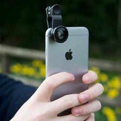 3 in 1 Lens Set for Smartphones | Wide Angle, Macro & Fisheye