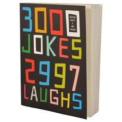 3000 Jokes, 2997 Laughs Book | Clever title, very clever book