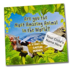 Most Amazing Animal Personalised Children's Book
