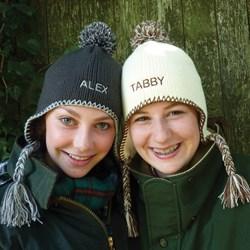 Personalised Tassel Bobble Hat
