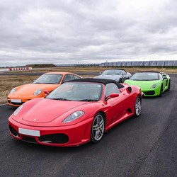 4 Supercar Driving Experience