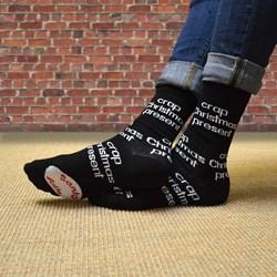 Crap Christmas Present Socks