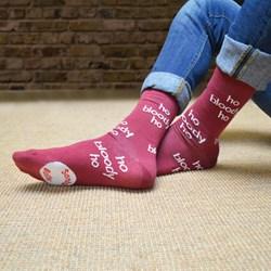 Ho Bloody Ho Socks | Bah Humbug!