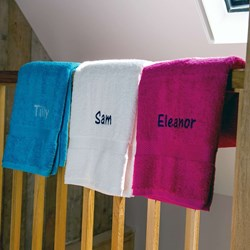 Personalised Towel | Personalise with a name!