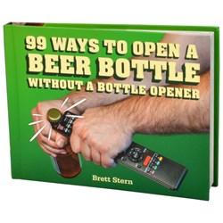 99 Ways To Open A Beer Bottle Book | Forgot the Bottle Opener?