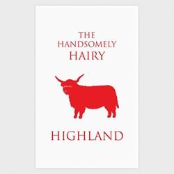 Hairy Highland Cow Tea Towel