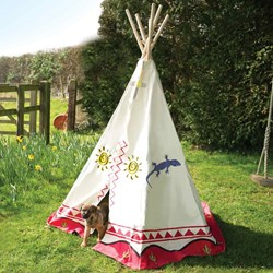 Cowboys and Indians Tepee | Wigwam