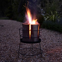 Swedish Torch & Basket Set | the alternative to a Firepit
