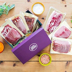 Personalised Gourmet Bacon Gift Box