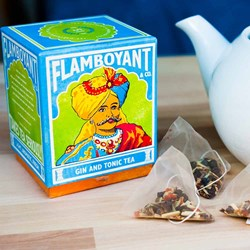 Gin and Tonic Flamboyant Tea