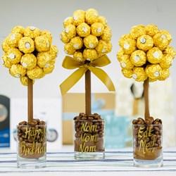 Personalised Ferrero Rocher Sweet Tree