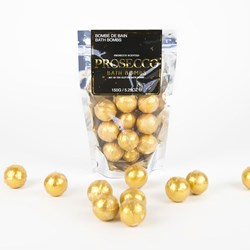 Gold Prosecco Bath Bombs